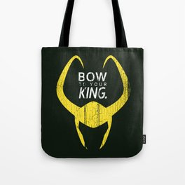 Bow to Your King Tote Bag