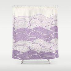 The Lavender Seas Shower Curtain