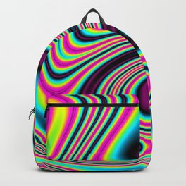 Colorful stripes Backpack