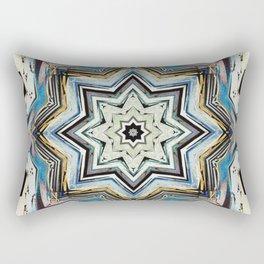 Eight Points of Texture Rectangular Pillow
