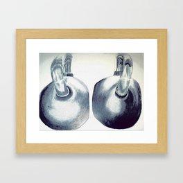 Kettlebells Framed Art Print
