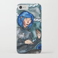 coraline iPhone & iPod Cases featuring Coraline by Jazmine Phillips