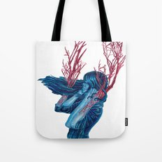 Her Arms Became Trees Tote Bag