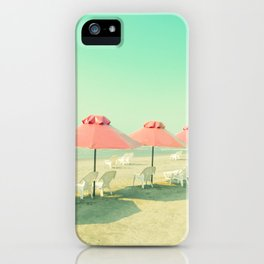 Pink Row II iPhone Case
