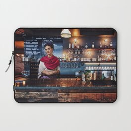 Frida at bar Laptop Sleeve