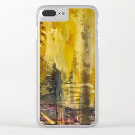 #Abstrakt Indi Clear iPhone Case