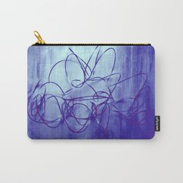 metal wire solarized Carry-All Pouch