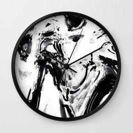 Pareidolia – Hidden faces part 1 Wall Clock