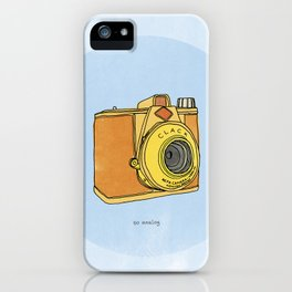 So Analog - Agfa Clack Retro Vintage Camera iPhone Case