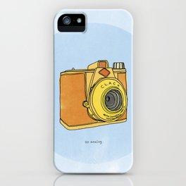 So Analog - Agfa Clack Retro Vintage Camera iPhone Case