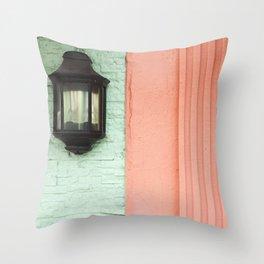 Vintage Florida Vibes Throw Pillow