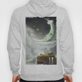 Night. Time of miracles and magic Hoody