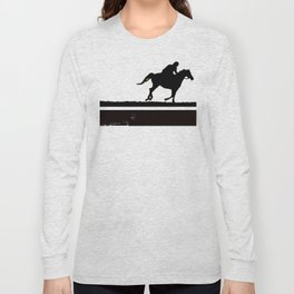 The rider on the white horse  Long Sleeve T-shirt