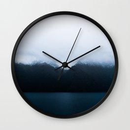 blue blue days Wall Clock