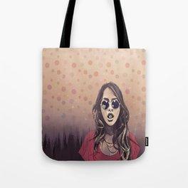 A GIRL IN THE FOG Tote Bag