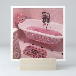 Magic bathroom Mini Art Print