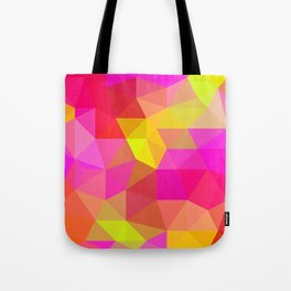 Citrus Candy Low Poly Tote Bag