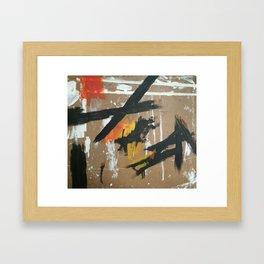Kline Knew Framed Art Print