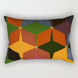 KALEIDOSCOPE 05 #HARLEQUIN Rectangular Pillow