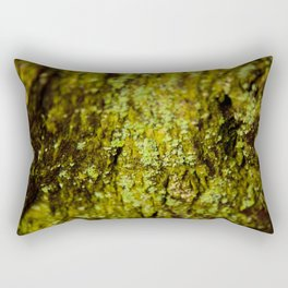 Lichen on Redwood Tree Rectangular Pillow