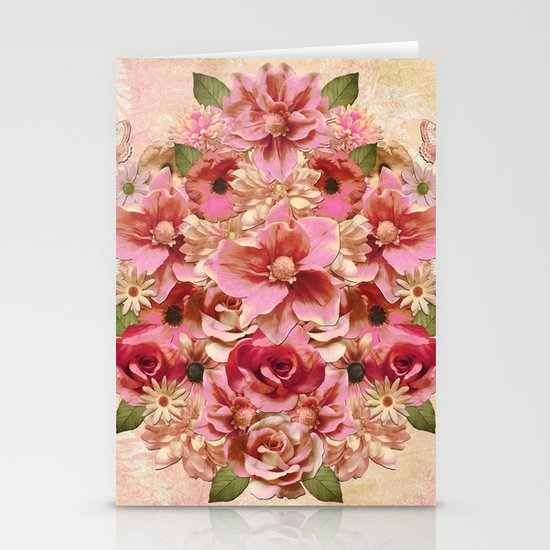 Daybreak Flourish Stationery Cards