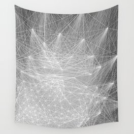 geometry heartbreak Wall Tapestry