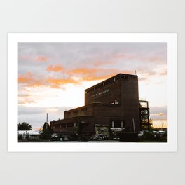City of Burlington Art Print