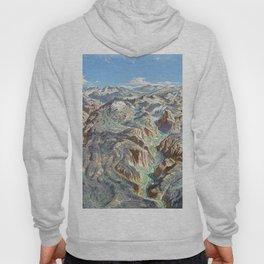 Heinrich Berann - Panoramic Painting of Yosemite National Park (1989) Hoody