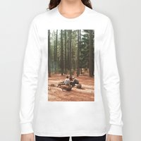 camp Long Sleeve T-shirts featuring Camp by Casey Afton Hess