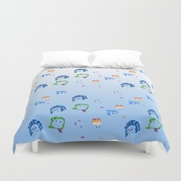 inside out repeat Duvet Cover