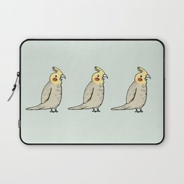 Happy Cockatiel Laptop Sleeve