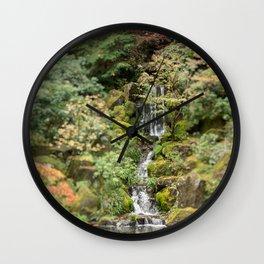 alone in the garden Wall Clock