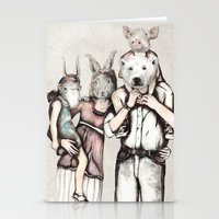 family Stationery Cards featuring Family by RiversAreDeep