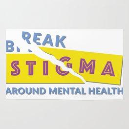 Break stigma around mental health Rug