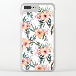 Honolua Tropic White Clear iPhone Case