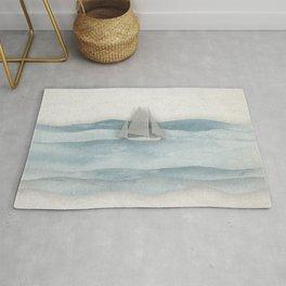 Floating Ship Rug