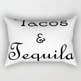 Tacos & Tequila Rectangular Pillow