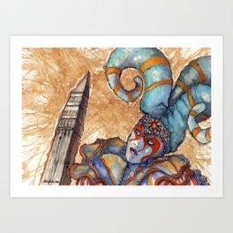 CIRCO DEL SOL Art Print