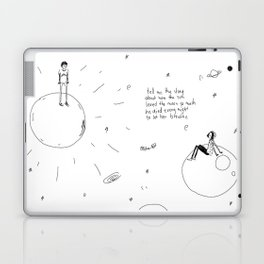 The Sun and Moon Laptop & iPad Skin