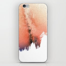 White pine trees iPhone Skin
