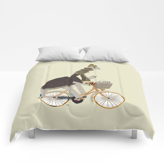 shopping for dinosaurs Comforters