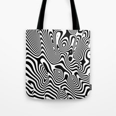 Trippy Background Tote Bag