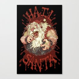 Hail Santa Canvas Print