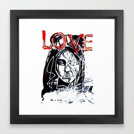 LOVE MAG Framed Art Print