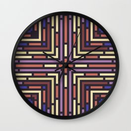 Geometrical labyrinth for home decoration Wall Clock