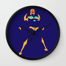 nova superhero Wall Clock