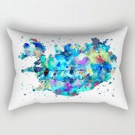 Iceland Map Rectangular Pillow