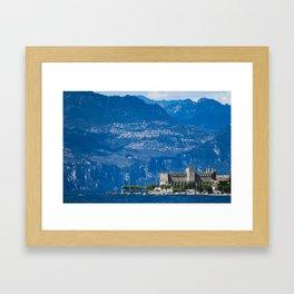 Garda Lake, Italy Framed Art Print