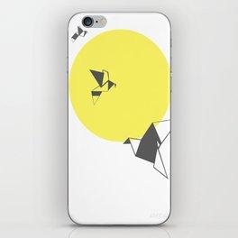 Sun Birds iPhone Skin