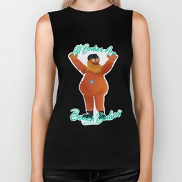 All Bodies Are Beach Bodies - Gritty Loves Everyone Biker Tank